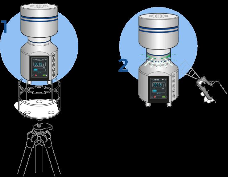 Accessori campionatore microbiologico aria
